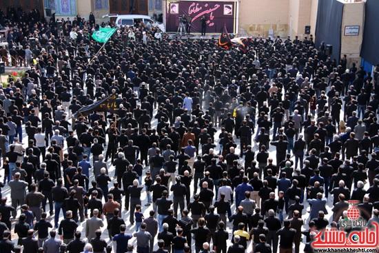 ا از تجمع هیئت های عزاداری در مسجد جامع رفسنجان (۱۱)