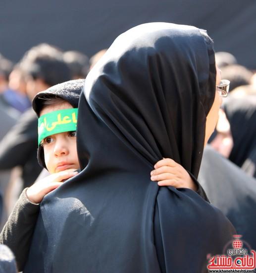 ا از تجمع هیئت های عزاداری در مسجد جامع رفسنجان (۱۳)