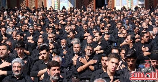 ا از تجمع هیئت های عزاداری در مسجد جامع رفسنجان (۱۶)