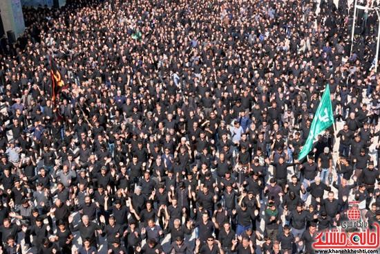 ا از تجمع هیئت های عزاداری در مسجد جامع رفسنجان (۲)