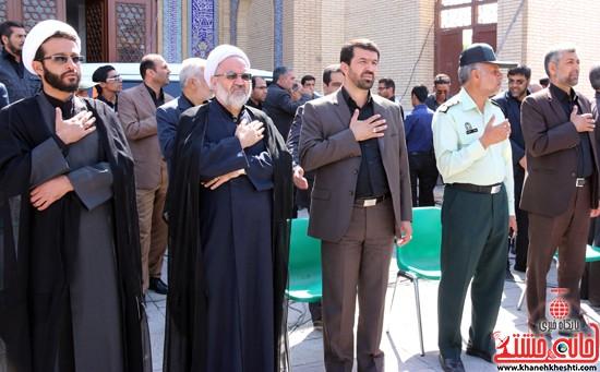 ا از تجمع هیئت های عزاداری در مسجد جامع رفسنجان (۲۰)