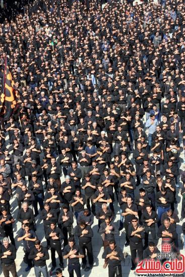 ا از تجمع هیئت های عزاداری در مسجد جامع رفسنجان (۳)