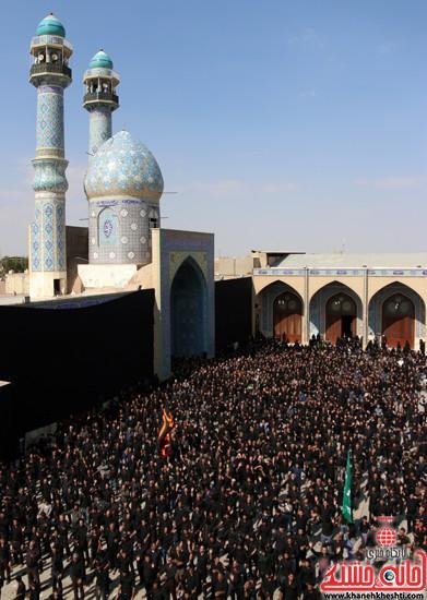 ا از تجمع هیئت های عزاداری در مسجد جامع رفسنجان (۴)