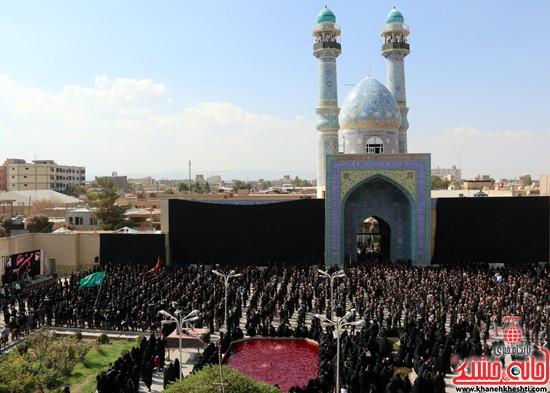 ا از تجمع هیئت های عزاداری در مسجد جامع رفسنجان (۹)