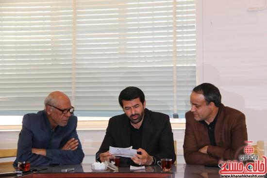 بازدید فرماندار رفسنجان از اداه گاز و اداره تعاون، کار و رفاه اجتماعی (۱۲)