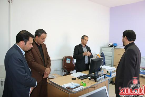 بازدید فرماندار رفسنجان از اداه گاز و اداره تعاون، کار و رفاه اجتماعی (۱۶)