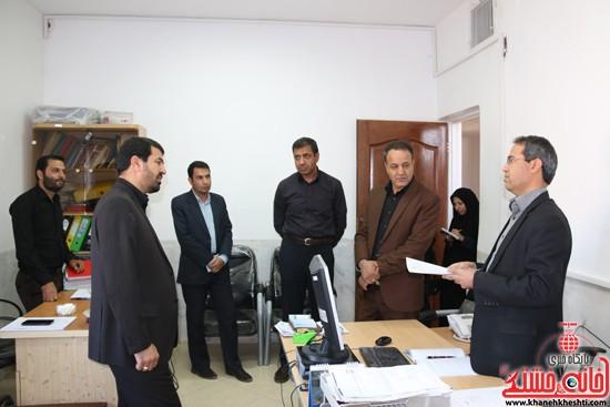 بازدید فرماندار رفسنجان از اداه گاز و اداره تعاون، کار و رفاه اجتماعی (۱۷)