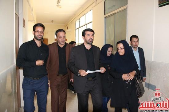 بازدید فرماندار رفسنجان از اداه گاز و اداره تعاون، کار و رفاه اجتماعی (۳)