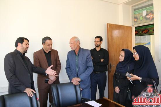 بازدید فرماندار رفسنجان از اداه گاز و اداره تعاون، کار و رفاه اجتماعی (۵)