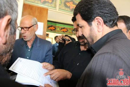بازدید فرماندار رفسنجان از اداه گاز و اداره تعاون، کار و رفاه اجتماعی (۷)