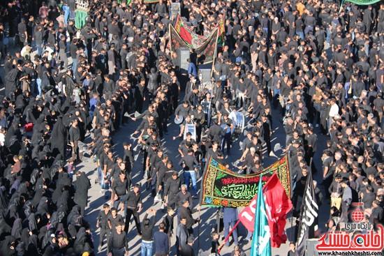 تصاویر عزاداران حسینی در روز عاشورا رفسنجان (۱)