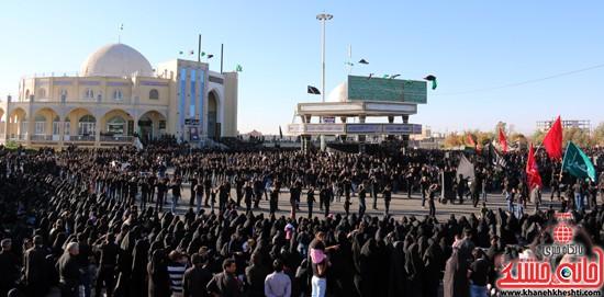 تصاویر عزاداران حسینی در روز عاشورا رفسنجان (۱۰)