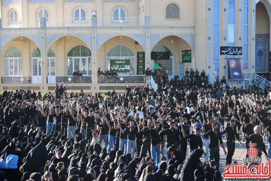 تصاویر عزاداران حسینی در روز عاشورا رفسنجان (۱۱)