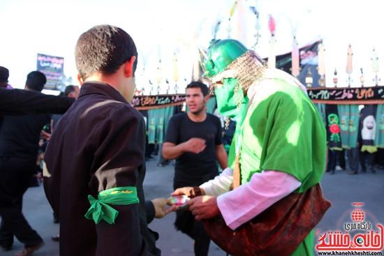 تصاویر عزاداران حسینی در روز عاشورا رفسنجان (۱۳)