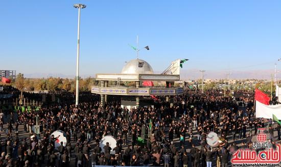 تصاویر عزاداران حسینی در روز عاشورا رفسنجان (۱۸)