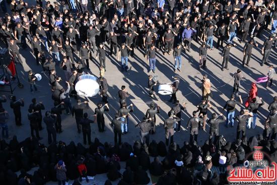 تصاویر عزاداران حسینی در روز عاشورا رفسنجان (۲)