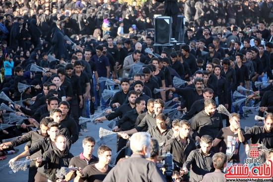 تصاویر عزاداران حسینی در روز عاشورا رفسنجان (۲۴)