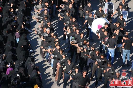 تصاویر عزاداران حسینی در روز عاشورا رفسنجان (۳)