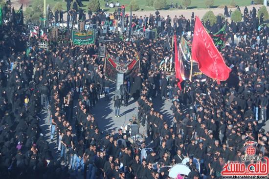 تصاویر عزاداران حسینی در روز عاشورا رفسنجان (۵)