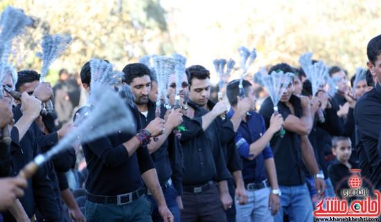 تصاویر عزاداران حسینی در روز عاشورا رفسنجان (۷)