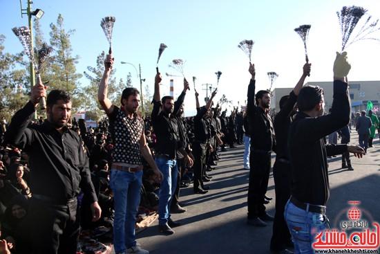 تصاویر عزاداران حسینی در روز عاشورا رفسنجان (۸)
