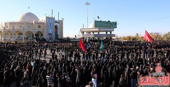 تصاویر عزاداران حسینی در روز عاشورا رفسنجان (۹)