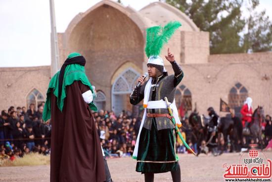 تعزیه خوانی روز عاشورا در امام زاده سید غریب رفسنجان (۱)