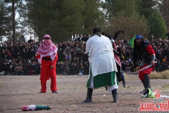 تعزیه خوانی روز عاشورا در امام زاده سید غریب رفسنجان (۲۵)