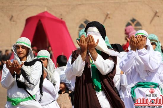 تعزیه خوانی روز عاشورا در امام زاده سید غریب رفسنجان (۳۶)