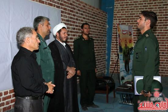تودیع و معارفه فرهنگی سپاه ناحیه رفسنجان (۸)
