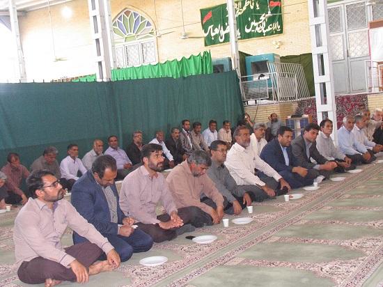 مراسم شهدای حادثه منا در شهر صفاییه برگزار شد/تصاویر