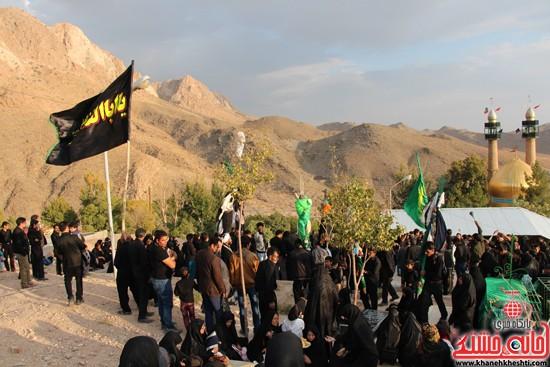 زاداری محرم در روستای دره در رفسنجان-خانه خشتی (۱۲)