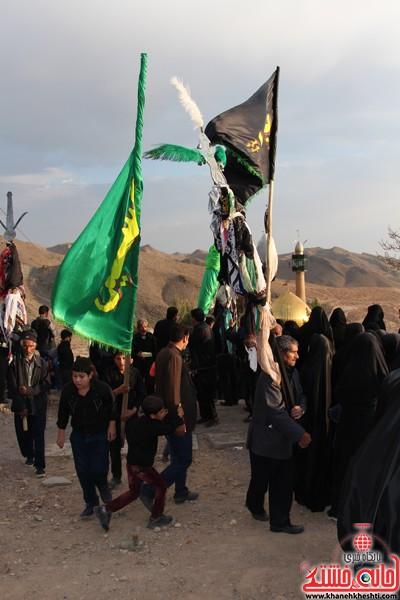 زاداری محرم در روستای دره در رفسنجان-خانه خشتی (۱۳)