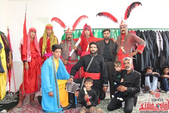زاداری محرم در روستای دره در رفسنجان-خانه خشتی (۸)