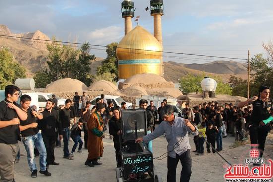 زاداری محرم در روستای دره در رفسنجان-خانه خشتی (۹)
