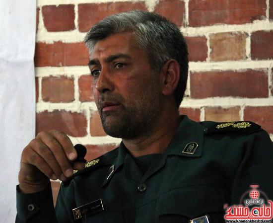 انتصاب جانشین فرمانده سپاه رفسنجان به فرماندهی ریگان
