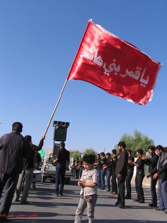 تصاویر عزاداران حسینی در روز عاشورا در بخش فردوس