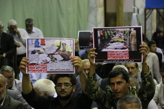 مراسم گرامیداشت جانباختگان منا در رفسنجان/عکس