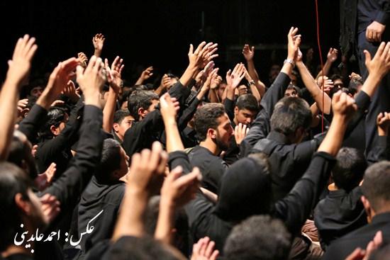 تصاویر / مردم رفسنجان در سوگ شهیدان کربلا