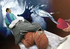 پاشیدن اسید بر روی زنی در رفسنجان