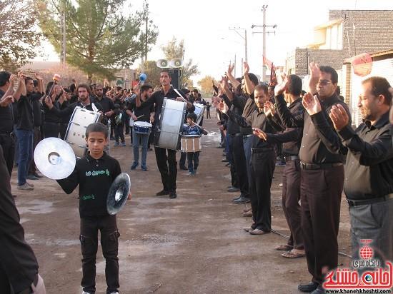 تصاویر عزاداری تاسوعای حسینی در روستای مهدی آباد نوق رفسنجان