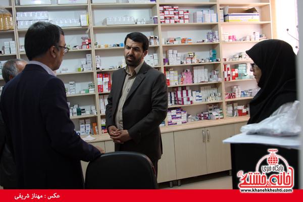 ارائه خدمات پزشکی رایگان به خانوار روستای اسلام آباد و احمدآباد رفسنجان