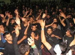 مراسم عزاداری تدفین شهدای کربلا در روستای جوادیه مرتضوی نوق برگزار شد/ تصاویر
