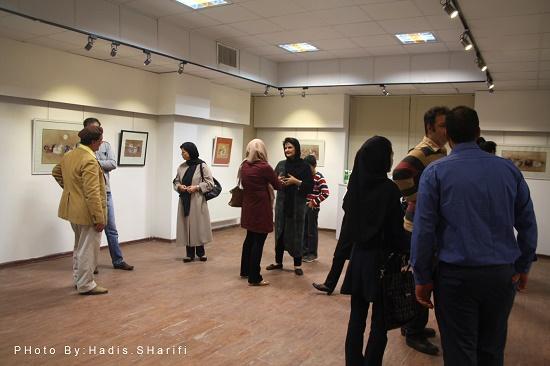 افتتاح نمایشگاه مینیاتور در رفسنجان / عکس
