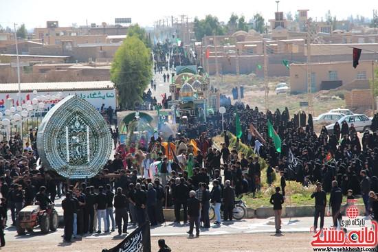 آیین عزای حسینی در شهر بهرمان رفسنجان-خانه خشتی (۱۱)