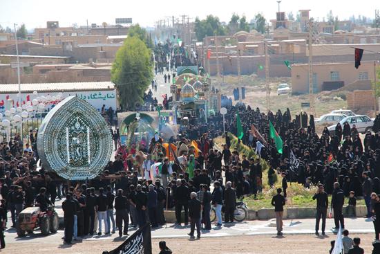 تصاویر / آیین عزای حسینی در شهر بهرمان رفسنجان