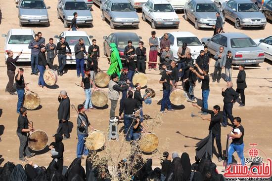آیین عزای حسینی در شهر بهرمان رفسنجان-خانه خشتی (۱۴)