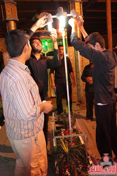 آیین عزای حسینی در شهر بهرمان رفسنجان-خانه خشتی (۳)