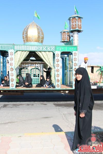 آیین عزای حسینی در شهر بهرمان رفسنجان-خانه خشتی (۴)