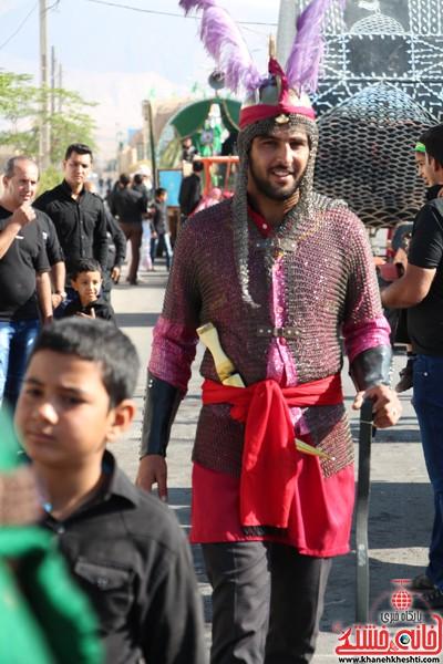 آیین عزای حسینی در شهر بهرمان رفسنجان-خانه خشتی (۶)